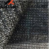 Buy cheap HDPE Warp Knitted Agriculture Shade Net Custom Black UV Stabilzied from wholesalers