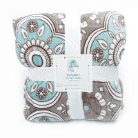 Buy cheap Healthy Warm Flannel Print Blanket / Super Soft Plush Blanket 100% Polyester product