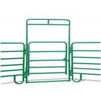 Buy cheap Livestock Portable Round Yard Panels, Anti Corrosion Round Pen Corral Panels from wholesalers
