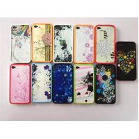 Buy cheap Flower Custom PC Phone Case Protective For Iphone 4 / 4s from wholesalers