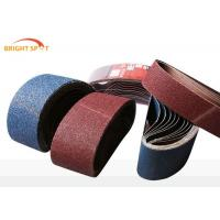 Buy cheap Surface Grinding Belt Grinder Belts , Shipbuilding Cloth Backed Abrasive Roll from wholesalers