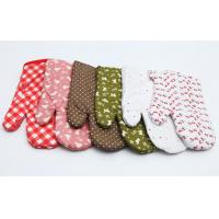 Buy cheap Cooking  Heat Resistant Oven Gloves , Heat Proof Oven Mitts  Easy Slip On product