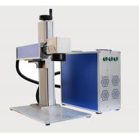 Buy cheap 50W Fiber Laser Marking Machine for Carbon Steel Brass Copper Deep Engraving from wholesalers