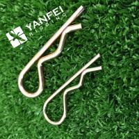 Buy cheap Zinc Plated Split Pins Cotter Pins R Pins, Hair Pin from wholesalers