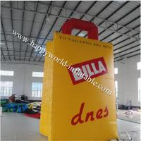 Buy cheap Big inflatable shopping bag replica from wholesalers