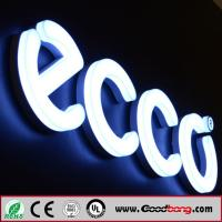 Buy cheap Custom outdoor any font laser engraved 3D led acrylic alphabet letter, standing ABS alphab from wholesalers