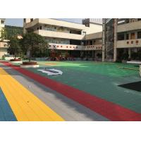 Quality Anti Corrosion Outdoor Sports Flooring Reducing Injury And Fatigue Long Life for sale