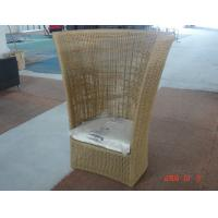 Buy cheap Wicker sun lounger high back luxury sofa for Hotel, Garden and Beach by Clover Lifestyle China Outdoor Furniture from wholesalers
