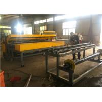 Buy cheap 3 - 6 Mm Welding Wire Mesh Fence Machine In Rolling And Panel Electronic Control from wholesalers