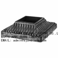 Buy cheap Cast Iron Base Shoes for Staircase and Railings,Wrought Iron Shoes Can Fit over 1 from wholesalers