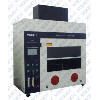 Buy cheap Density Testing Horizontal Flammability Tester Standard Ul94 Hb Flammability Rating from wholesalers