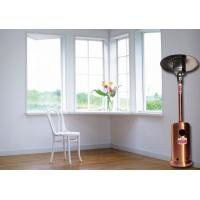 Outdoor Meeting Mushroom Patio Heater With Round Base Side Mounted Wheels