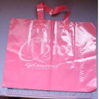 Buy cheap Pink Printed Garment Packaging Poly Bags Customizable Shopping Bags from wholesalers