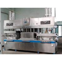 Buy cheap Disposable Takeaway Fast Food Paper Plates Making Machine 700 Pcs / Hour from wholesalers