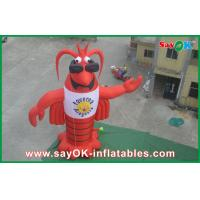 Buy cheap Festival Red Inflatable Cartoon Characters 420D Oxford Cloth from wholesalers