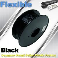 Buy cheap 1.75mm / 3.0mm 3D Printing Rubber Filament Flexible Material Tasteless And Odorless from wholesalers