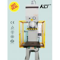 Buy cheap 100 Ton Horizontal C Type Hydrostatic Punch Press Machinery , High Speed from wholesalers