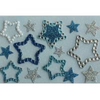 Buy cheap Promotional Clear Epoxy Star Shaped Stickers Printable Die Cut For MP3 from wholesalers