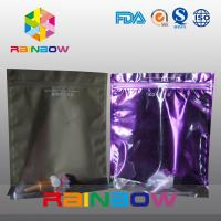 Buy cheap Stand Up Plastic Cosmetic Bag , PA / PE Cosmetic Packaging Bag Front Transparent from wholesalers