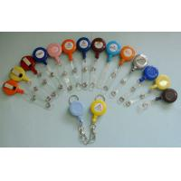 Buy cheap Different Color Plastic Badge Holder , Lanyard Pouch Holder With Metal Clip  from wholesalers