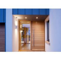 Buy cheap Commercial Solid Wood Interior Doors With Glass , Solid Wood Front Doors For Homes from wholesalers