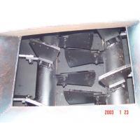 Uniform Thickness Double Shaft Mixer Ceramic / Casting Blades Shock Resistance