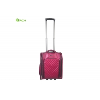 Buy cheap Fashion PU Trolley Underseat Luggage Bag With Side Pocket from wholesalers