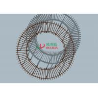 Big Round Wood Plastic Composite Pergola Exradius 8m Inner Circle Radius 5.5m