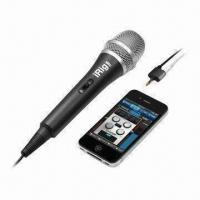Buy cheap Hot Selling IRIG MIC, Handheld Condenser Microphone for iPhone, iTouch and iPad from wholesalers