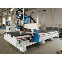 Buy cheap Double worktable disc ATC CNC Router 1325 CNC carving machine with HSD spindle and reducer motor from wholesalers