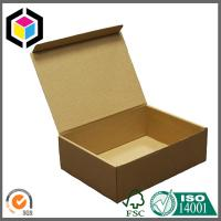 Buy cheap Plain Brown Kraft Color Paper Corrugated Carton Shipping Package Box from wholesalers
