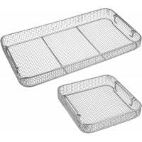 Buy cheap Wire Mesh Surgical Instrument Sterilization Containers Tray For Washing / Sterilizing from wholesalers