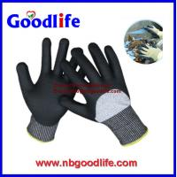 Buy cheap 10G Cut Resistant Gloves with Black PU from wholesalers