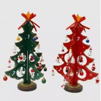 Buy cheap DIY Wooden Christmas Tree Gift Ornament Table Desk,Christmas Ornaments,Christmas Crafts from wholesalers