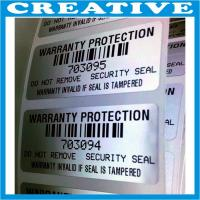 Buy cheap tamper evident security tape void label product