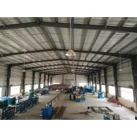 Buy cheap Pre Fab Steel Building Workshop / Steel Frame House ISO9001 Approved product