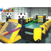 Buy cheap Adult /  Kids Summer Funny Inflatable Football Field Durable Crazy For Funny from wholesalers