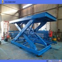 Buy cheap Factory Supplied Garage Using Stationary Scissor Lift Table for Materials Handling from wholesalers