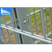 Buy cheap Low Carbon Double Wire Fence Public , Pool Security Fence For Garden Easy Installation from wholesalers