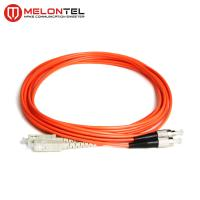 Buy cheap Red Multimode Patch Cord MT-D1000 3.0mm Duplex Fiber Optic Cable With SC Connector from wholesalers