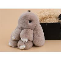 Buy cheap Portable Cute Pendant Rabbit Fur Keychain For Car / Bag Accessories product