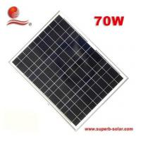 China 70W solar panel (CKPV-70W solar panel-6P36) on sale