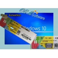 Buy cheap Free Shipping Windows 10 Professional Activation Key X 20 Label COA from wholesalers