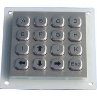 Buy cheap Metal dot matrix keypad from wholesalers