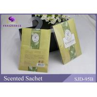 Buy cheap Yellow  Color Promotional Gift Used Verbena Scented Paper Scented Sachet from wholesalers