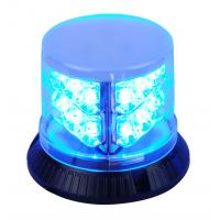 Buy cheap Powerful Blue Police Beacon Light , PC Shell LED Warning Beacons For Vehicles from wholesalers