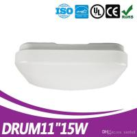 Buy cheap New UL ES Listed driverless DOB ceiling fixture 11inch 15w plastic led square ceiling light for bedroom from wholesalers