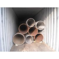 Buy cheap Heat Treated High Pressure Carbon Steel Pipe Seamless Structure ASTM A106 Standard from wholesalers