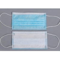 Buy cheap 3 Ply Oem Dust Respirator Disposable Sheet Earloop Mask product
