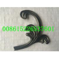 Buy cheap Wrought Iron Ornamnets Cast Steel Leaf  Used For   Iron Gate Iron Railings Decoration from wholesalers